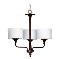 Quorum Lighting Rockwood Oiled Bronze Chandelier