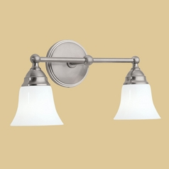 Norwell Lighting Sophie Brush Nickel Bathroom Light