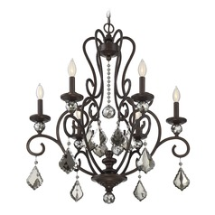Savoy House Lighting Stratton Statuary Bronze Chandelier