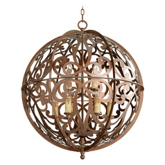 Quorum Lighting Montgomery Vintage Copper Pendant Light