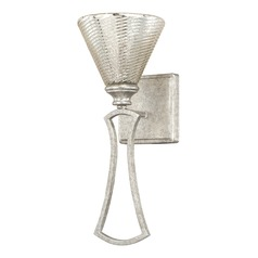 Capital Lighting Corrigan Antique Silver Sconce