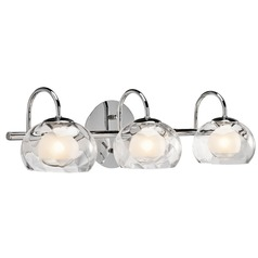 Elan Lighting Niu Chrome Bathroom Light