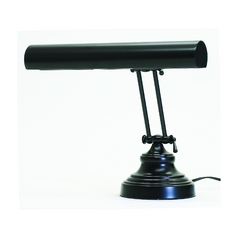 Piano / Banker Lamp in Black Finish