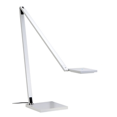 Modern LED Task / Reading Lamp in Gloss White Finish