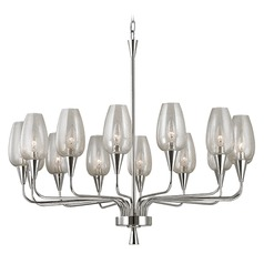 Longmont 14 Light Chandelier - Polished Nickel