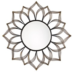 Uttermost Imani Iron Sunflower Mirror