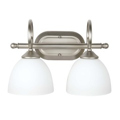 Craftmade Lighting Raleigh Satin Nickel Bathroom Light