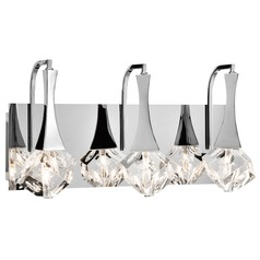Elan Lighting Rockne Chrome Bathroom Light