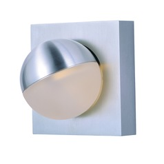 Et2 Alumilux LED Satin Aluminum LED Sconce