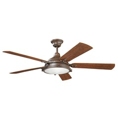 Kichler Lighting Hatteras Bay Patio Ceiling Fan with Light
