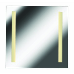 Square 25.63-Inch Illuminated Mirror by Kenroy Home