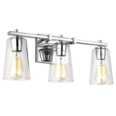 Feiss Lighting Mercer Chrome Bathroom Light