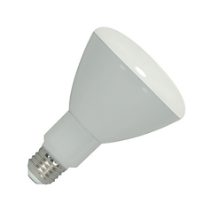 Satco Dimmable LED BR30 Reflector Light Bulb (3000K) - 65-Watt Equivalent