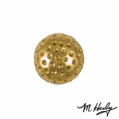 Transitional Doorbell Button Brass by Michael Healy