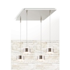 Holtkoetter Lighting Lichtstar System Brushed Brass Multi-Light Pendant
