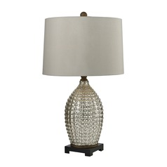 Dimond Lighting Antique Mercury, Bronze Table Lamp with Drum Shade