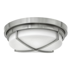 Hinkley Lighting Halsey Brushed Nickel Flushmount Light