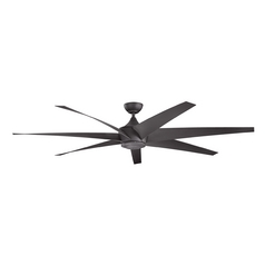 Kichler Lighting Lehr Distressed Black Ceiling Fan Without Light