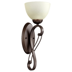 Quorum Lighting Lariat Oiled Bronze Sconce