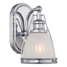 Minka Lavery Chrome Sconce