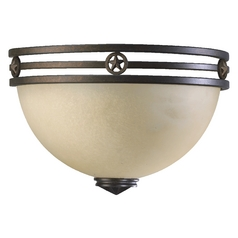 Quorum Lighting Lone Star Toasted Sienna Sconce