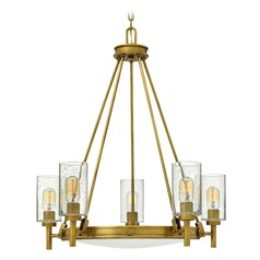 Hinkley Lighting Collier Heritage Brass Chandelier