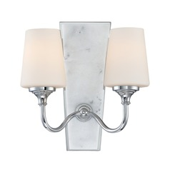 Designers Fountain Lusso Chrome Sconce