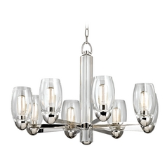 Hudson Valley Lighting Pamelia Polished Nickel Chandelier