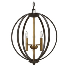Hinkley Lighting Euclid Spanish Bronze Pendant Light