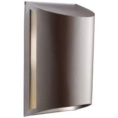 Kichler Modern Outdoor Wall Light in Architectural Bronze Finish