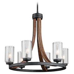 Kichler Grand Bank 6-Light Chandelier in Auburn Stained