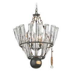 Troy Lighting 121 Main Glass Bottle Pendant Light