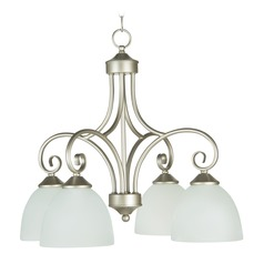 Craftmade Lighting Raleigh Satin Nickel Chandelier