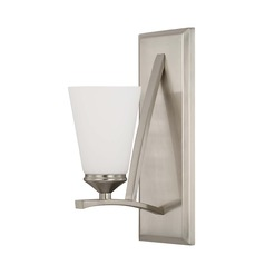 Capital Lighting Boden Brushed Nickel Sconce