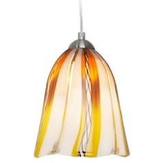 Oggetti Lighting Amore Satin Nickel Mini-Pendant Light