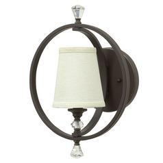 Hinkley Lighting Waverly Oil Rubbed Bronze Sconce