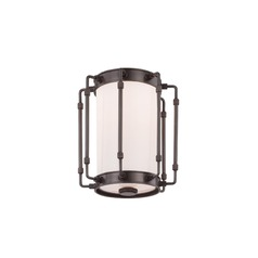 Hudson Valley Lighting Hyde Park Old Bronze LED Flushmount Light