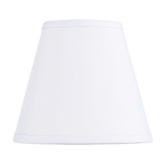 Livex Lighting S299 Off White Empire Lamp Shade with Clip-On Lamp Shade Assembly