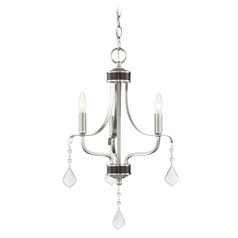 Livex Lighting Laurel Brushed Nickel Mini-Chandelier