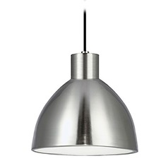 Farmhouse Brushed Nickel LED Mini-Pendant 3000K 545LM