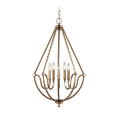 Elk Lighting Stanton Matte Gold Chandelier