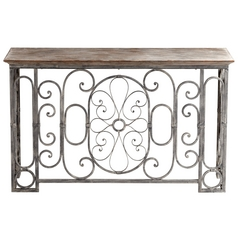 Cyan Design Nixie Antiqued Gray Table