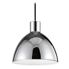 Farmhouse Chrome LED Mini-Pendant 3000K 545LM