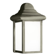 Sea Gull Lighting Mullberry Hill Pewter LED Outdoor Wall Light