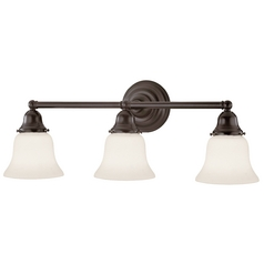 Design Classics Lighting Three-Light Bathroom Light 673-30/G9110 KIT