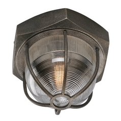 Troy Lighting Acme Aged Silver Flushmount Light
