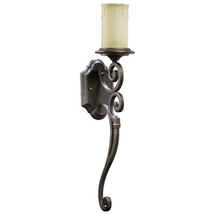 Quorum Lighting Marcela Oiled Bronze Sconce