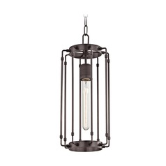 Hudson Valley Lighting Hyde Park Old Bronze Mini-Pendant Light