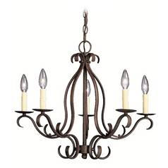 Kichler Lighting Chandelier in Tannery Bronze Finish 2033TZ
