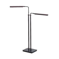 House of Troy Lighting LED Floor Lamp in Hammered Bronze Finish G300-2-HB